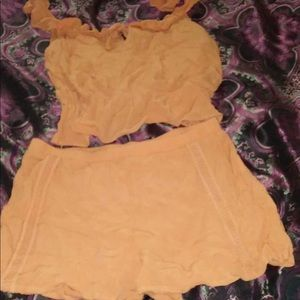 Kendall and Kylie two piece outfit size small